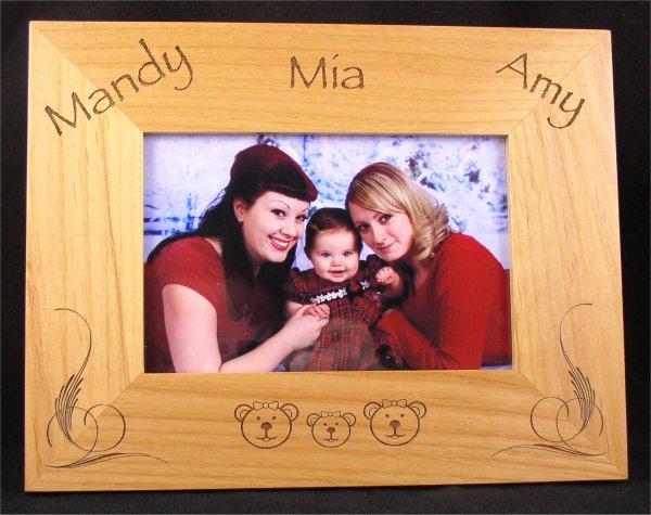 engraved picture frames - Engravable Frames